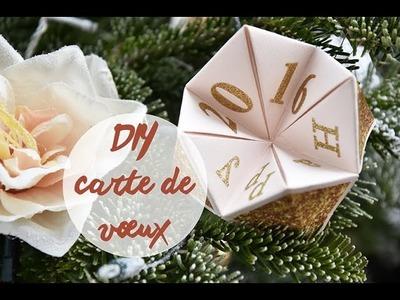 DIY CARTE DE VŒUX 2016