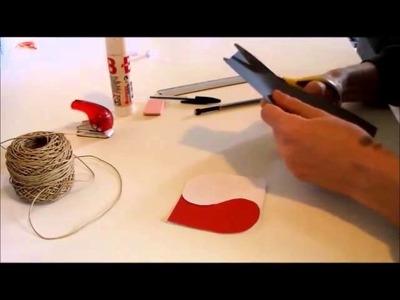 Diy: Carte pour la Saint Valentin
