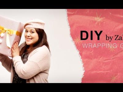 DIY emballages et paquets cadeaux ❄✂ #zalandodiy