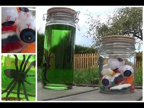 DIY Halloween : 2 idées de Bocaux Déco