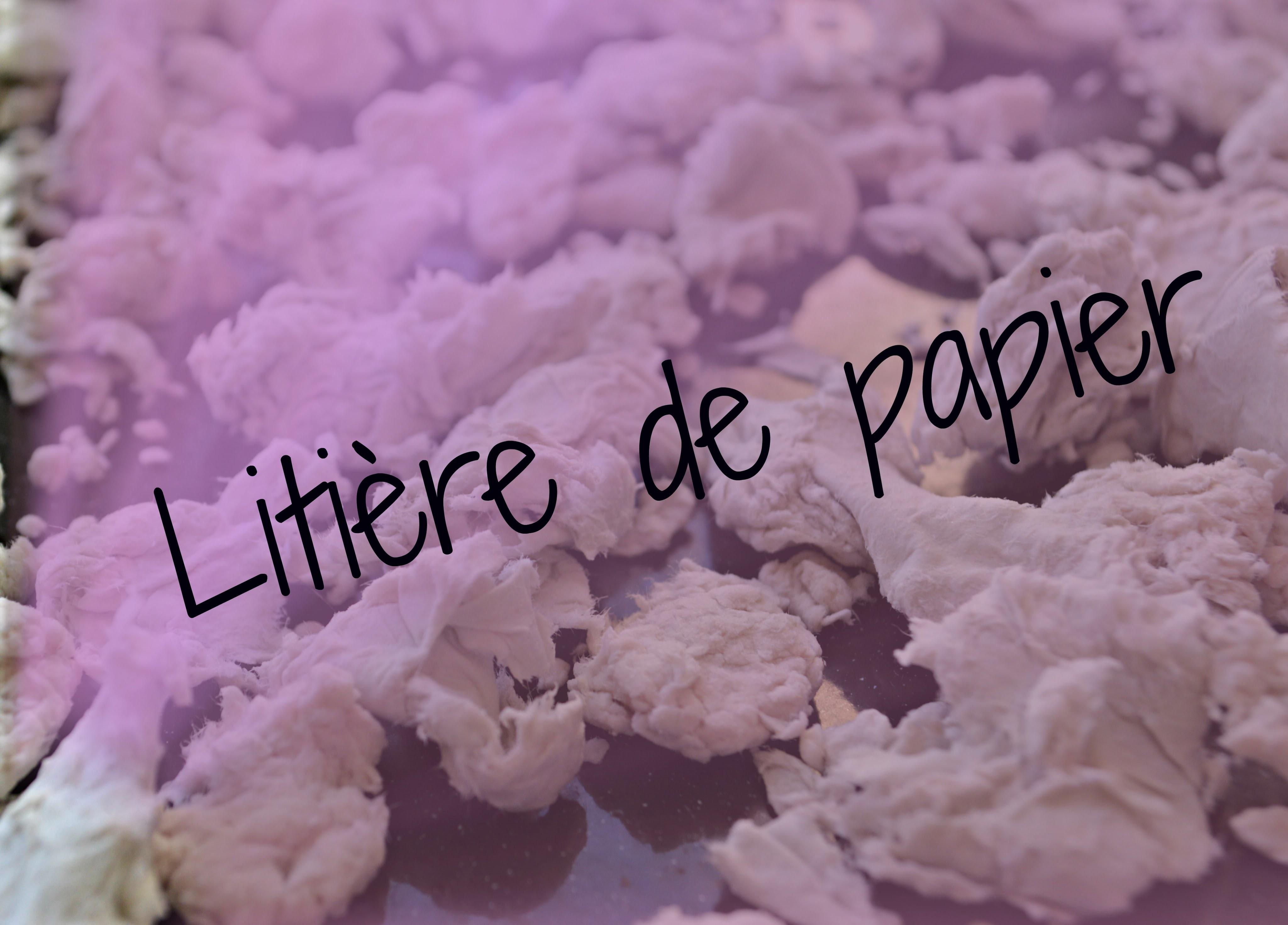 [DIY] Litière de papier maison !