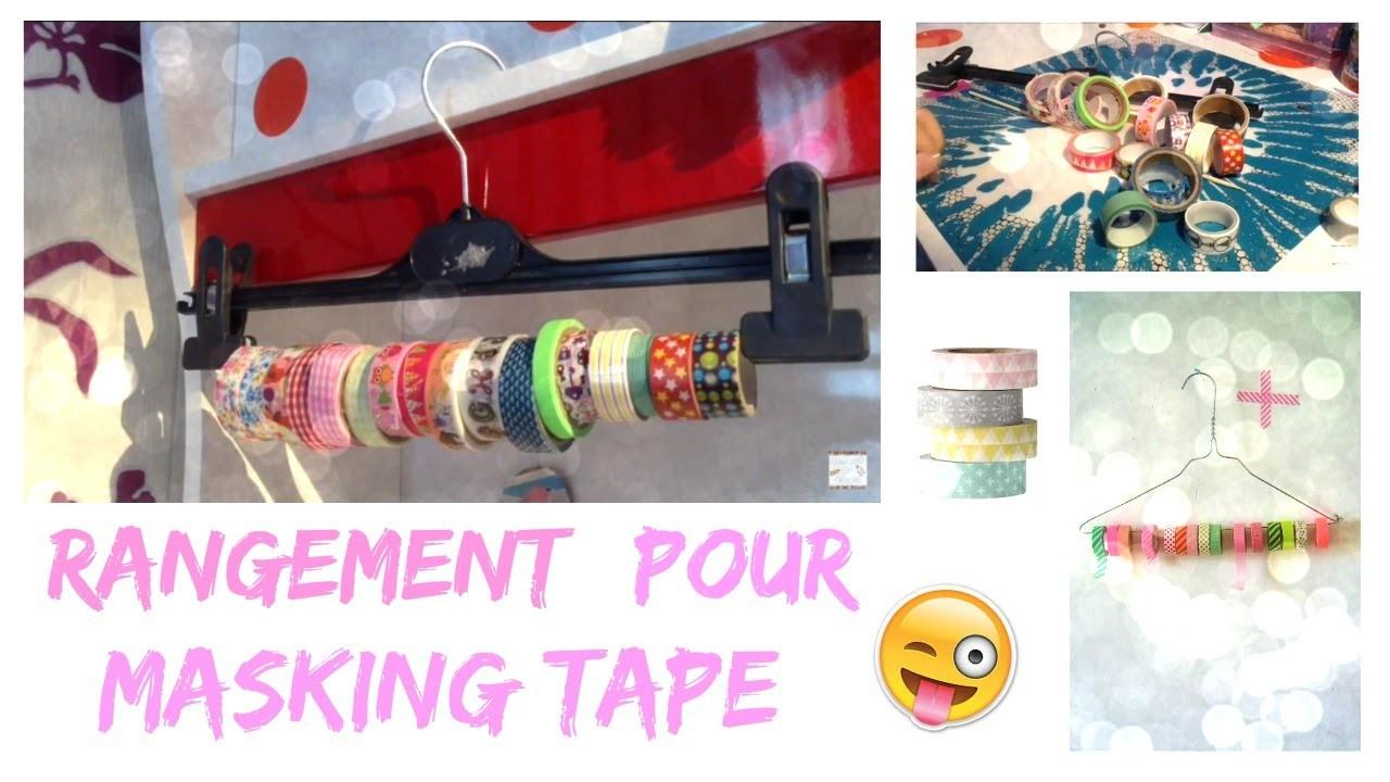 {DIY} Rangement pour masking tape