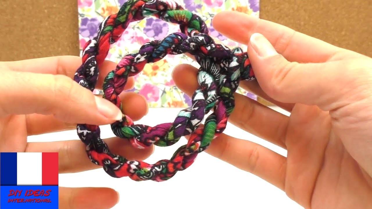 Idée DIY avec des restes de tissu | Chaîne, bracelet, ceinture | différentes idées