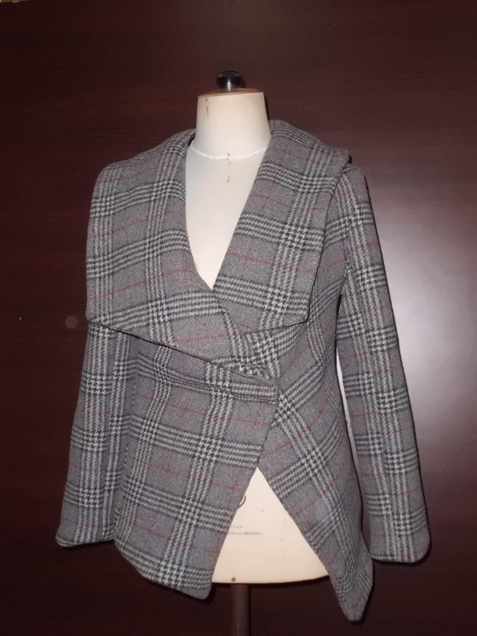 الحلقة 288 (DIY manteau avec col châle pointu (3