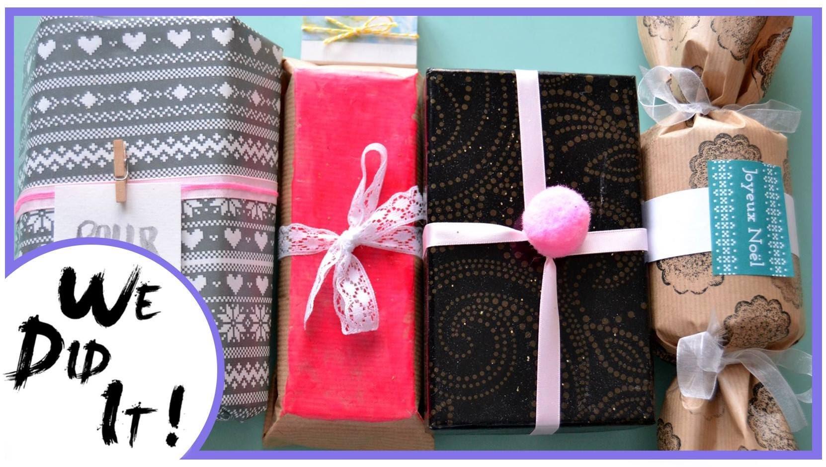 ~ Lafimodelaura ~ Emballer ses cadeaux - DIY & Idées