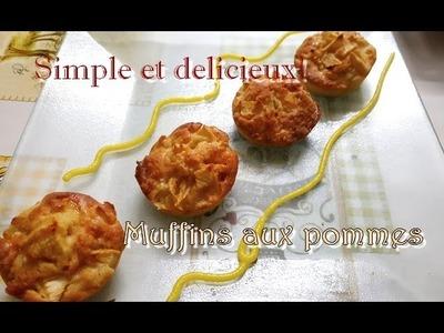 [Recette.DIY] Muffins aux pommes ULTRA BON !