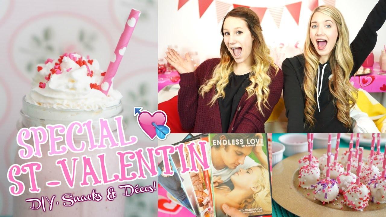 SPÉCIAL St-Valentin | Diy, Snacks & Déco