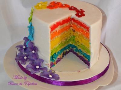 Comment faire un Rainbow Cake Part 3