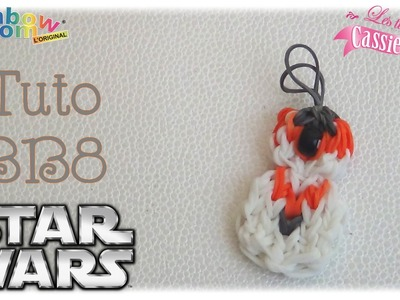 { Tuto } bb8 de Star Wars en élastique Rainbow Loom