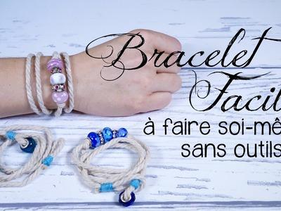 Bracelet de cordage DIY