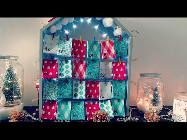 Décoration de Noël DIY : Calendrier de l'avent