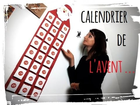 diy calendrier de lavent tuto no l. Black Bedroom Furniture Sets. Home Design Ideas