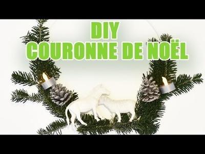 DIY - Courronne de Noël à faire soi-même