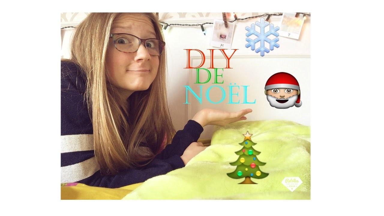 DIY de Noël!!! |Simple et Mignon♡| Laurie Lavoie