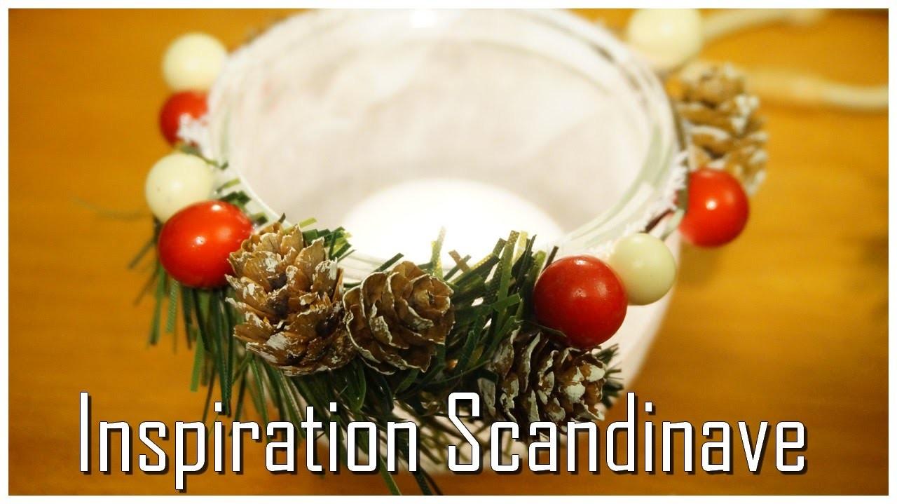 [ DIY n°7 ] : Photophore Inspiration Scandinave - CHRISTMAS SERIE