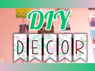 [DIY] Décor de chambre avec des photos!