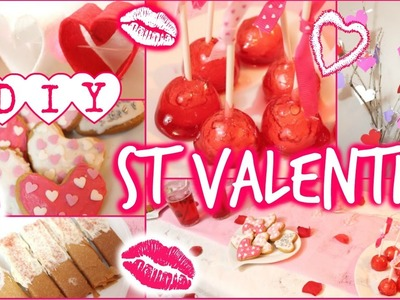 ♡ DIY St Valentin : Snacks & décoration