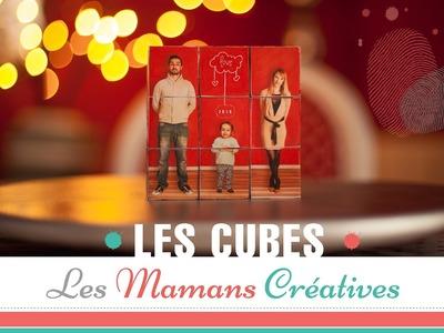 DIY. TUTO ENFANT : Recyclez et personnalisez les cubes en bois de votre bébé.