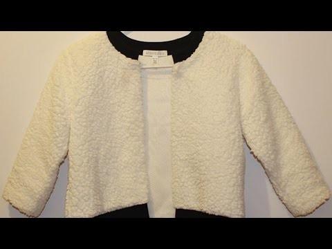 Confectionnez rapidement une petite veste  - DIY Mode - Guidecentral