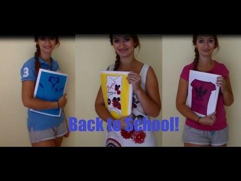 ☼ -DIY- Back to school! ☼ ♥♡♥ Cahier ralph Lauren, Desigual, Adidas .  ♥♡♥