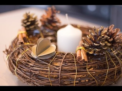 DIY : Couronne de Noël décorative