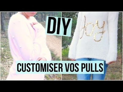 DIY ♡ Customiser vos pulls I DIY Français