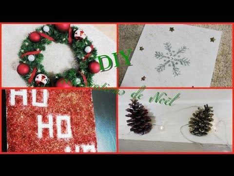 ❄️ [ DIY ]: Décorations Noël