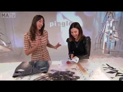 DIY Mode: Décorer ses vêtements en appliquant des ''patchs'' et des motifs