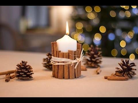 DIY Noël : Bougie à la cannelle