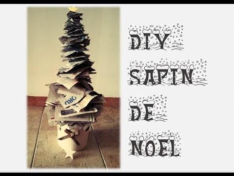 DIY Sapin de Noël écologique et économique !