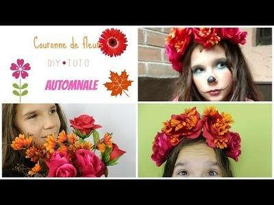 DIY-TUTO Couronne de fleurs d'automne - Sweet muffin