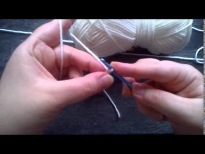 Leçon de crochet n°1 - Faire une chainette