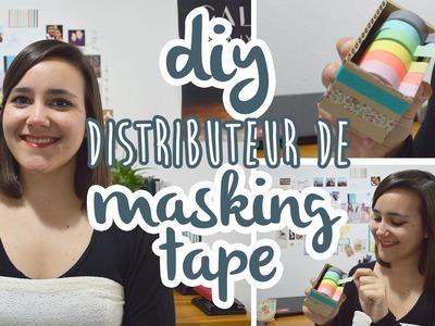 [ DIY Organisation n°3 ] Distributeur de masking tape ♣