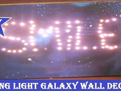 Tableau Galaxy Lumineux (DIY)
