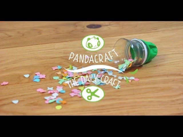 The Daily Craft : le canon à confettis