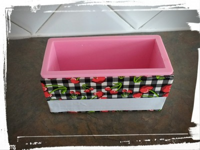 DIY Boîte pour moule à savon