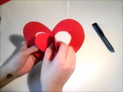 DIY carte de la st. valentin
