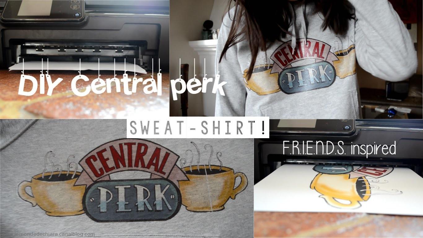 DIY: Central Perk sweater! F.R.I.E.N.D.S. inspired