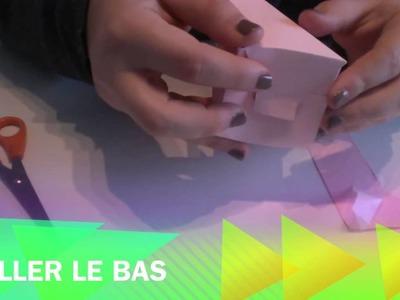 DIY : Comment faire une boite dragées en forme de cœur