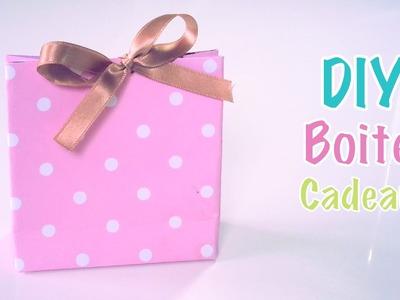 DIY Création boites cadeaux.Dragées en papier carton