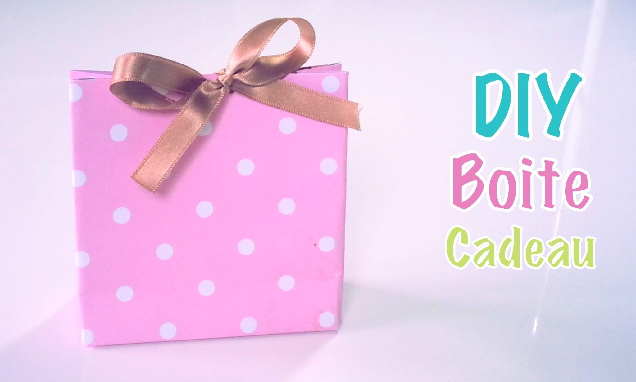 diy cr ation boites cadeaux drag es en papier carton. Black Bedroom Furniture Sets. Home Design Ideas