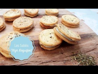 DIY Cuisine ♡ Les Sablés Thym Roquefort