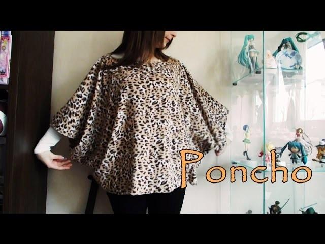 DIY ~ Poncho Facile ►