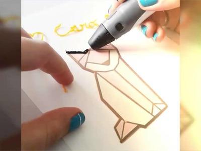 DIY renard au stylo 3D