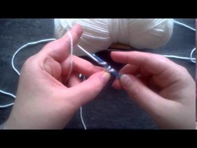 Leçon de crochet n°3 - La maille serrée