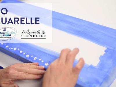 Tutoriel DIY : Réalisez un duo aquarelle - Cultura Creativ 2016