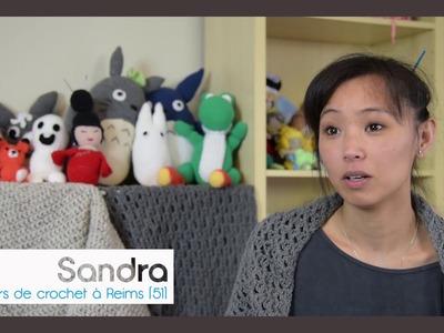 Vente d'objets et vêtements en crochet Reims 51100 Marne - Sandra bande-annonce