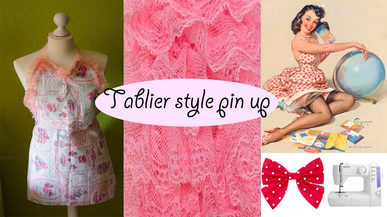 DIY Comment faire un tablier style pin up