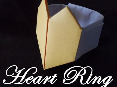 Origami - Bague En Coeur (Tutorial)