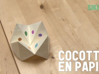 Origami : Cocotte en papier (jeux enfants) - HD